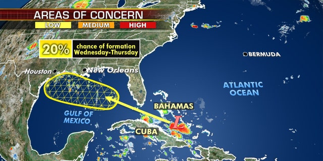 A tropical wave near the Bahamas is being monitored as it could potentially develop into the next named tropical system.
