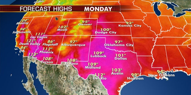 Intense heat wave persists for tens of millions, severe weather possible across Central US