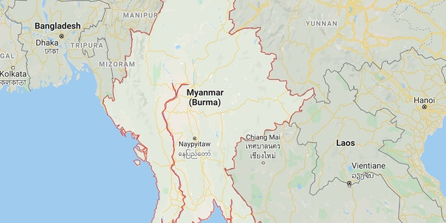 A landslide at a jade mine in northern Myanmar killed 50 people Thursday, the central government said, though a local lawmaker said the toll was nearly twice as high. (Google Maps)