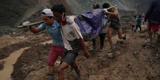 At least 162 people were killed Thursday in a landslide at a jade mine in northern Myanmar, the worst in a series of deadly accidents at such sites in recent years that critics blame on the government's failure to take action against unsafe conditions.