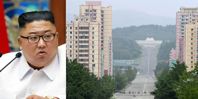 "North Korean leader Kim Jong Un placed the city of Kaesong near the border with South Korea under total lockdown after a person was found there with suspected COVID-19 symptoms, saying ""the vicious virus"" may have entered the country, state media reported"