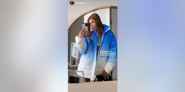 Olivia Jade Giannulli posted a silly selfie on Instagram on Wednesday.