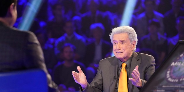 Regis Philbin on 'Who Wants to Be a Millionaire.'
