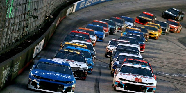 What is the NASCAR 'choose rule' all about?