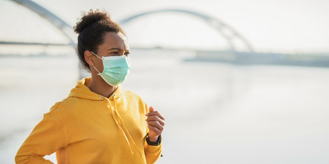 If you can socially isolate or distance yourself from others while exercising, one expert recommends avoiding wearing a face mask during your workout.