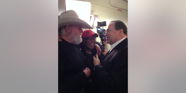 Charlie Daniels, Sam Moore and Mike Huckabee