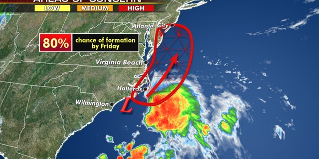 Tropical system likely to bring heavy rain, wind along East Coast; severe weather impacts Midwest