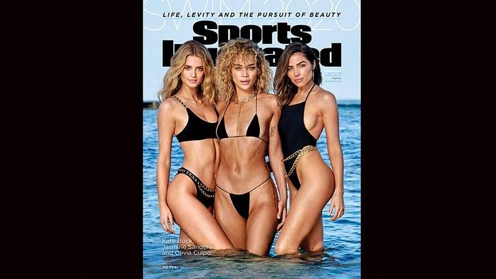 Si Swimsuit Models Olivia Culpo Jasmine Sanders And Kate Bock Share 2020 Cover Fox News