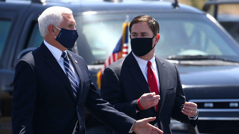 Pence delayed Arizona trip after Secret Service agents tested positive for coronavirus: report