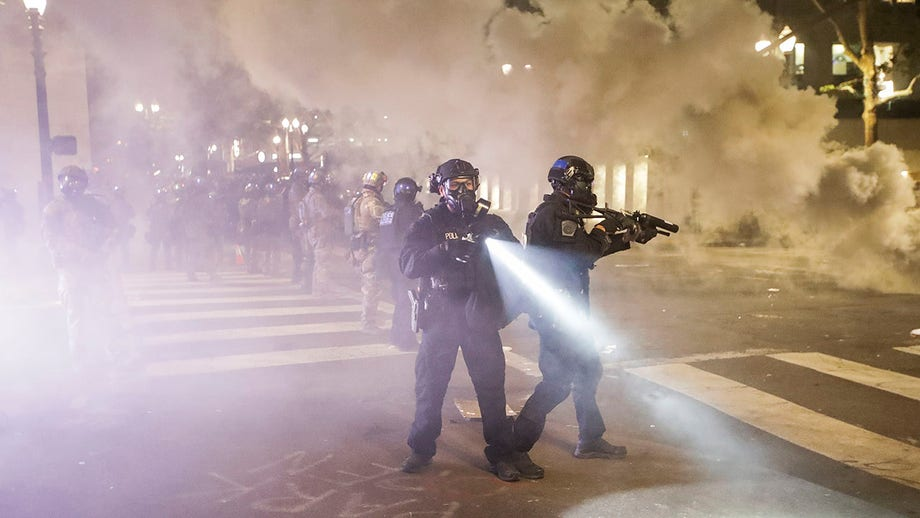 Night 62 in Portland sees more clashes; Trump in talks to pull out federal officers