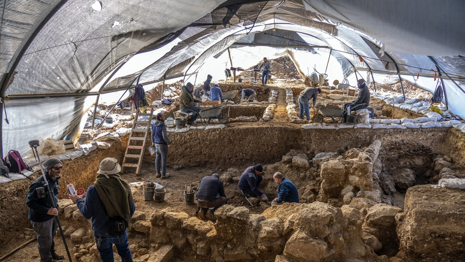 Stunning ancient site discovered near US embassy in Jerusalem