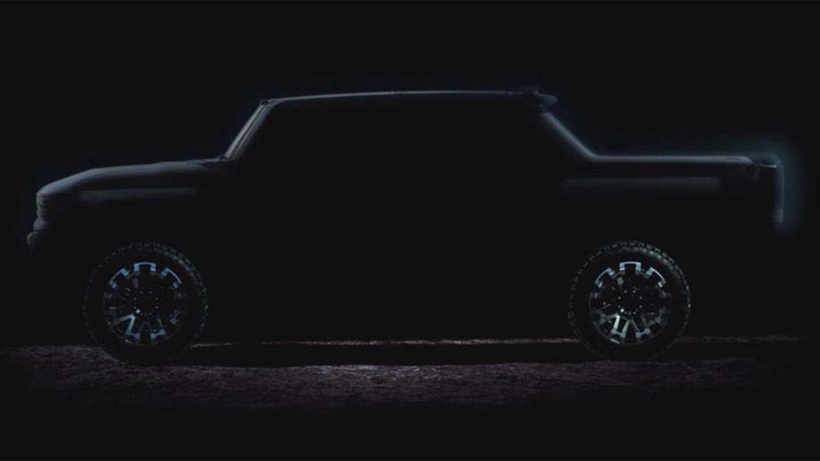 GMC HUMMER EV teased in photos ahead of fall reveal