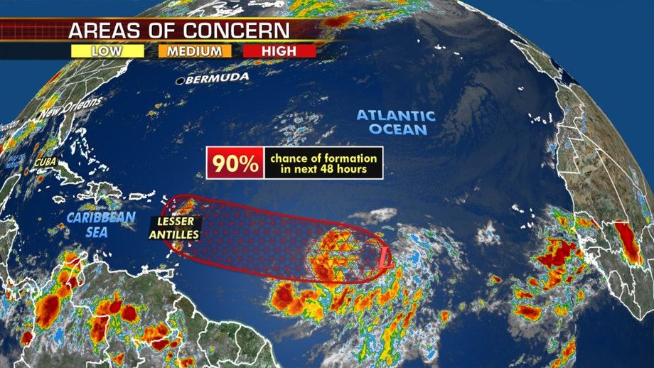Tropics stay active in Atlantic as disturbance may develop into Isaias, setting another record