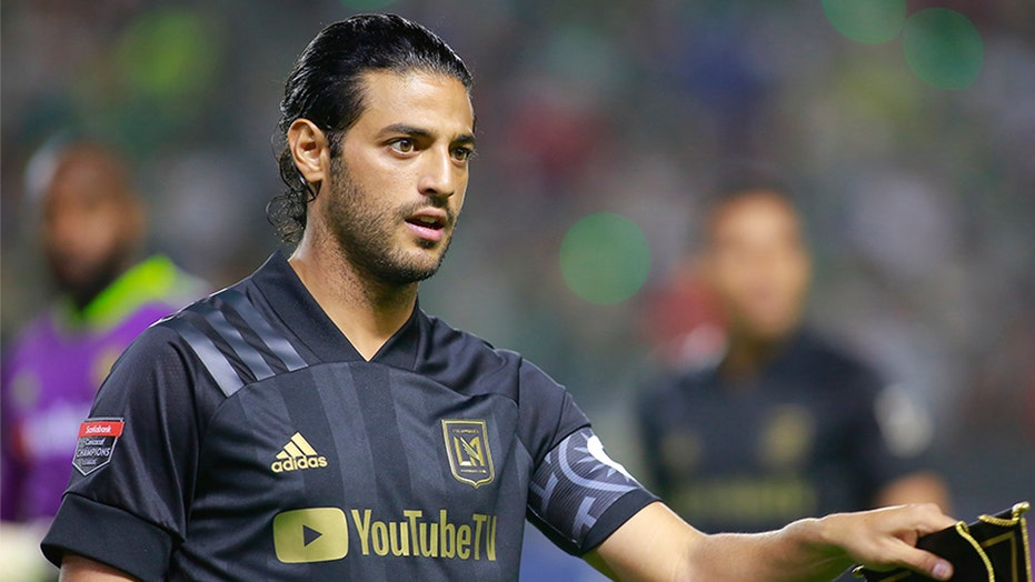 LAFC's Carlos Vela opts out of MLS tournament in Orlando | Fox News