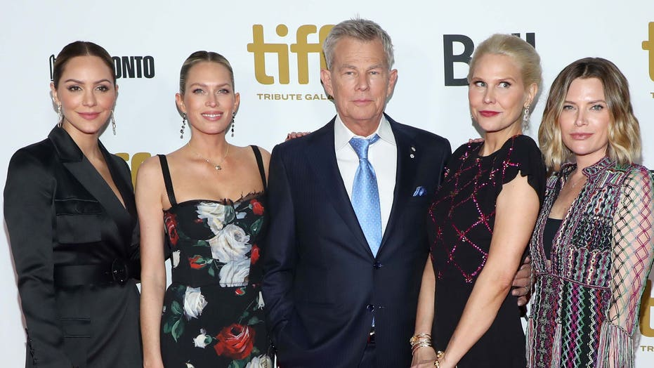 David Foster S Daughters Reveal Their Only Issue With His Wife Katharine Mcphee Fox News