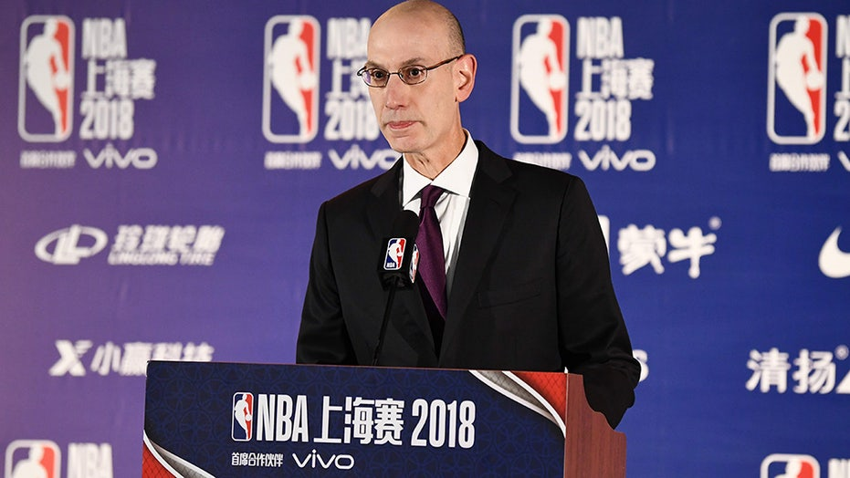 NBA to leave BLM, social justice messaging 'off the floor' next season, says Commissioner Adam Silver