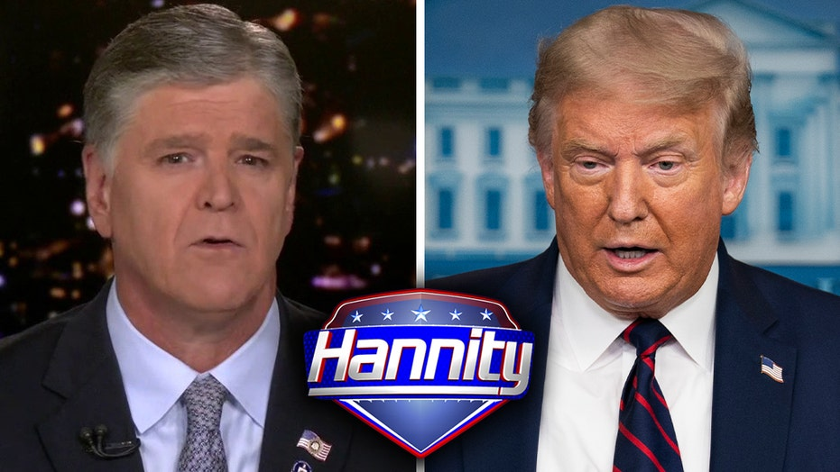 Sean Hannity on Trump's positive coronavirus test: 'Sad' but 'predictable' that it will be politicized