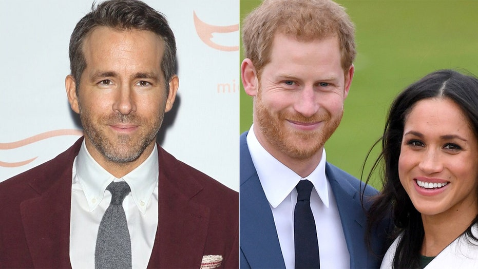 ryan reynolds makes a joke about prince harry meghan markle s royal step back on don t game show fox news prince harry meghan markle s royal
