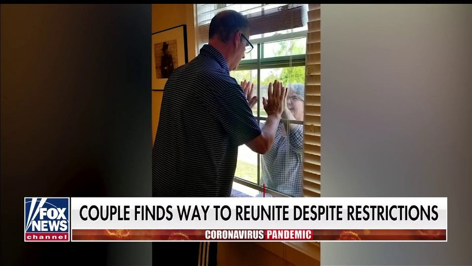 Wife takes dishwashing job at husband's assisted living home so she can see him for the first time in months