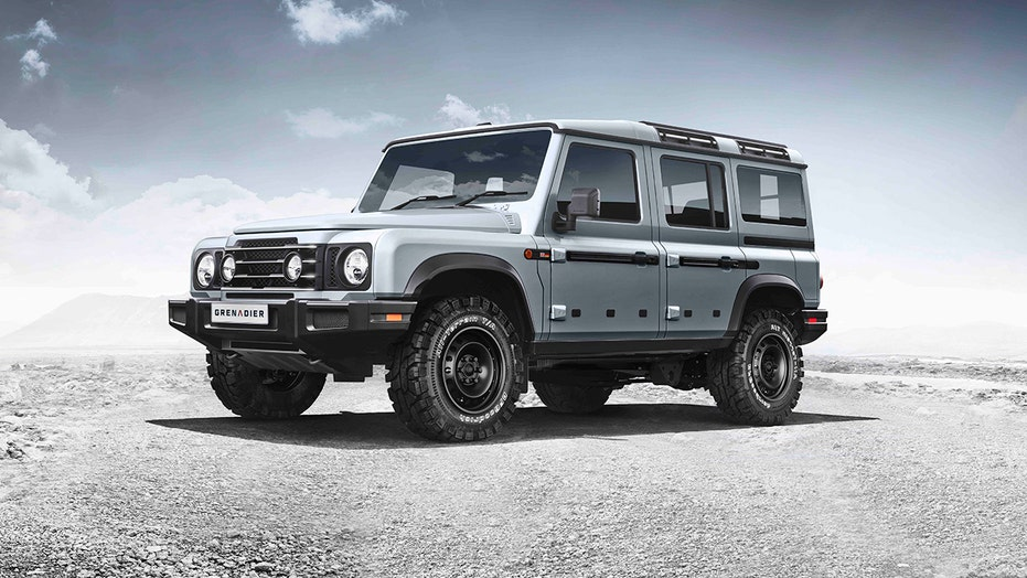 Land Rover brings back the Defender with a high tech modern flair