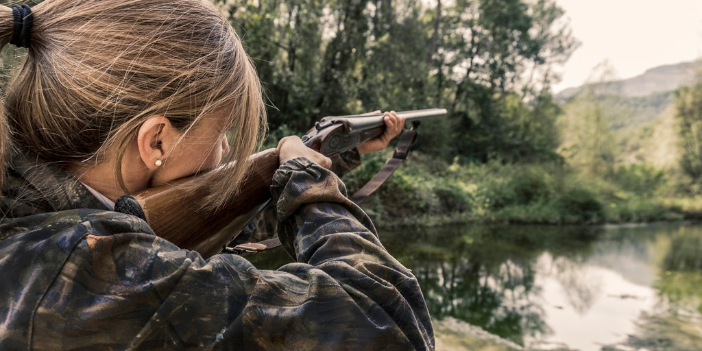 Female hunter receives death threats after modeling for French streaming  service specializing in hunting, fishing | Fox News