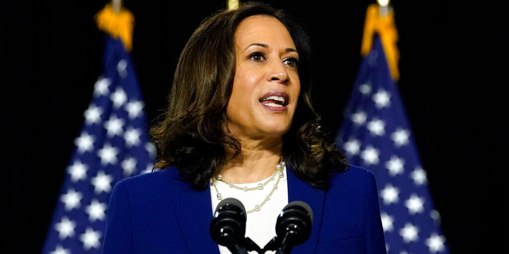 Kamala Harris accidentally touts plans under a 'Harris administration' during virtual roundtable