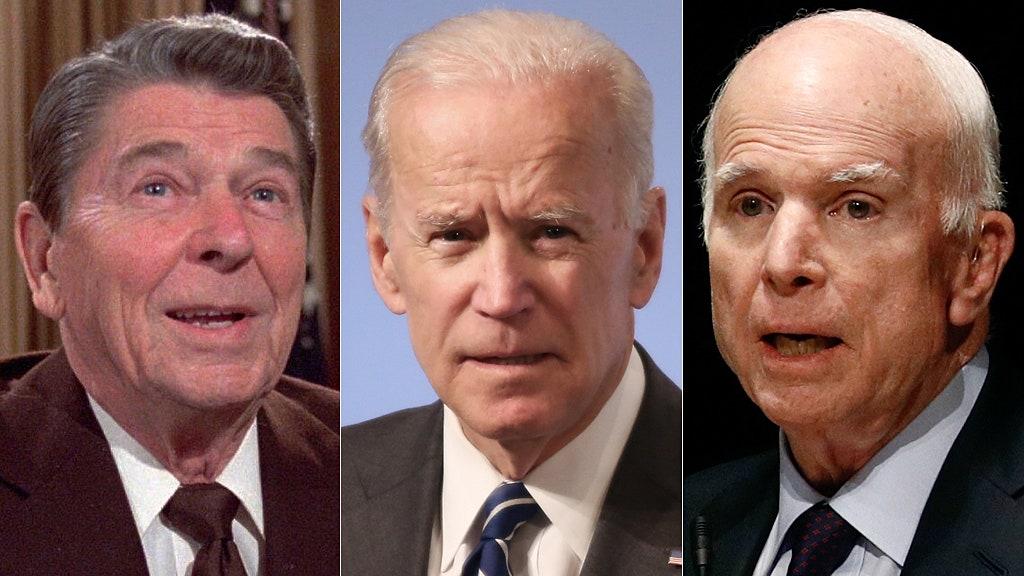 Health questions off-limits for Biden, unlike Trump, McCain, and Reagan