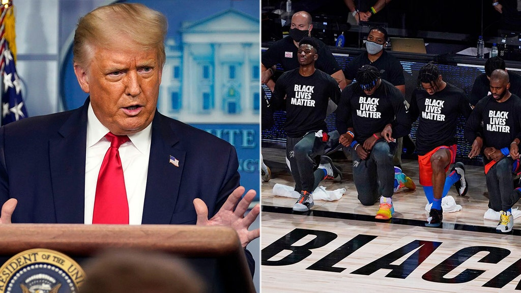 'NBA is in trouble': Trump says pro b-ball made bad decision on protests