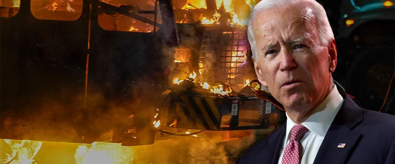 Media suggest violence could boost Trump, Biden addresses Kenosha