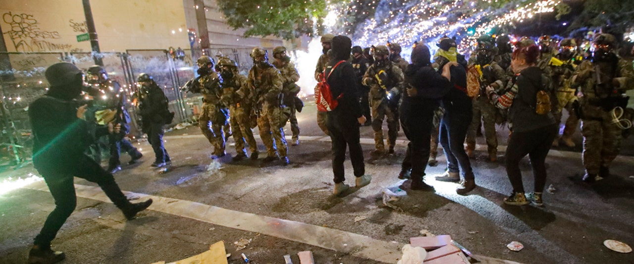 Portland's riots continue with no end in sight, taxing city's police