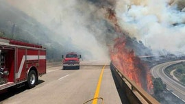 Grizzly Creek Fire in Colorado closes Interstate 70 in both directions, 'extreme fire behavior' reported