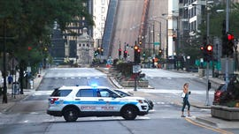 Chicago raises bridges, restricts downtown access to try and prevent more rioting