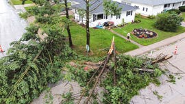 Powerful derecho with 100mph winds causes chaos across Midwest