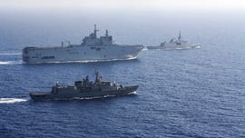 France sends forces into eastern Mediterranean to quell tensions between Greece, Turkey