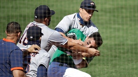 Athletics' Ramon Laureano says remark about his mom triggered Astros brawl