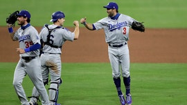 Dodgers' Chris Taylor completes dramatic double play to seal victory vs. Padres
