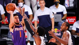 Suns' Devin Booker nails turnaround game-winning jumper over Clippers' Paul George