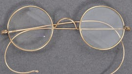 Gandhi's glasses surface after being left in mailbox
