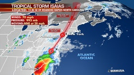 Isaias brings tornado, flash flooding threat to millions after North Carolina landfall sparks fires, knocks out power