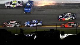William Byron wins crash-filled Daytona NASCAR race to make playoffs