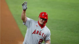 Mike Trout homers again on birthday, but Angels fall to Rangers