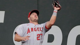 Trout homers in 1st AB as father, Angels beat Mariners 5-3