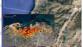 Beirut blast damage mapped by NASA using satellite data