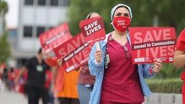 Tampa Veterans Affairs nurses protest coronavirus safety hazards