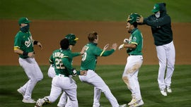Oakland A's hold off Astros in 13th inning for seventh straight win