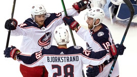 Korpisalo, Blue Jackets win 3-1, tie series with Lightning