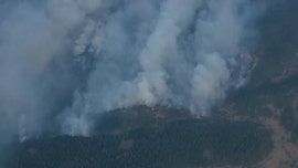 Mosier Creek Fire in Oregon's Columbia River Gorge quickly grows to 500 acres, prompts evacuations