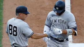Yankees' Phil Nevin tossed after arguing with umpire Angel Hernandez over strikeout