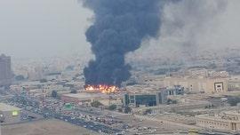 Massive fire breaks out at market in Ajman near Dubai
