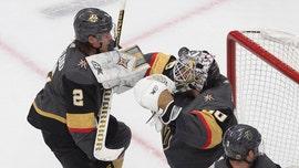Lehner, Golden Knights shut down Blackhawks 4-1 in opener